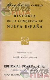 Historia de la conquista de Nueva España - Bernal Díaz del Castillo